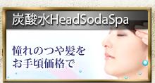 炭酸HeadSodaSpa 憧れのつや髪をお手頃価格で